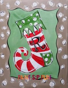 Last Trending Get all images christmas paint n sip Viral xmas stocking psf Christmas Rock, Christmas Crafts For Kids, Holiday Crafts, Kid Crafts, Christmas Ideas, Christmas Paintings On Canvas, Christmas Canvas, Christmas Drawing, Xmas Drawing