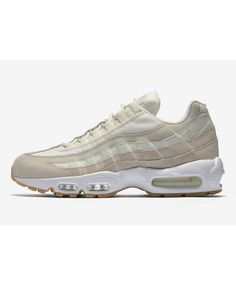 super popular ef571 1b908 Nike Air Max 95 Premium Desert Sand White Sail Trainers Air Max 95 Mens,  Cheap