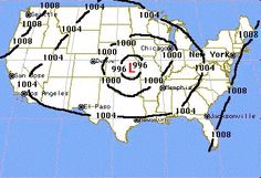 Isobars and other maps