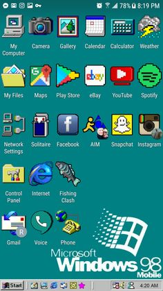 Iphone App Design, Iphone App Layout, Instagram Settings, Iphone Wallpaper Kawaii, Snapchat Icon, Windows 95, Computer Icon, Ios App Icon, Phone Themes