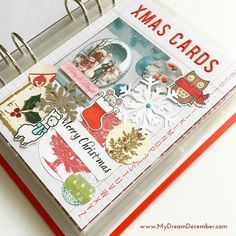 Create & Play / My Dream December Journal - Ideas and Inspiration / Keeping your Christmas cards in your December album | My Dream December