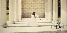 Don't be afraid to dance or twirl in your wedding dress.  The results could be something beautiful like this image taken at Roger Williams Park, Providence, RI
