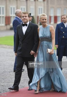 Dutch Prince Friso and Princess Mabel arrive to attend celebrations marking the 40th birthday of Dutch Crown Prince Willem Alexander at the Loo Palace on September 1, 2007 in Apeldoorn, The Netherlands.