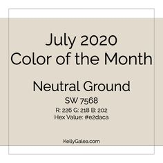 July 2020 Color of the Month & Energy Reading - Through the Kaleidoscope with Kelly Galea