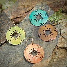 Handmade in America, Petite Northern Lights Earrings from Holly Yashi Jewelry. $38.00