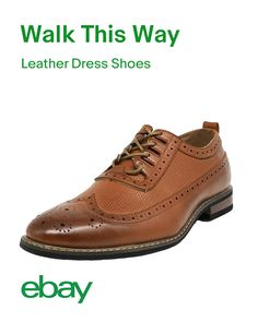 Give your work wardrobe a style reboot this Spring with classic brown leather shoes. Professional and fashionable, so you can walk with confidence in your step from meetings to happy hours. Brown Leather Shoes, Leather Dress Shoes, Leather Men, Suit Shoes, Men's Shoes, Kicks Shoes, Casual Shoes, Casual Loafers, Casual Sneakers