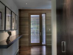Woodvalley House - Interiors - contemporary - entry - baltimore - by Ziger/Snead Architects