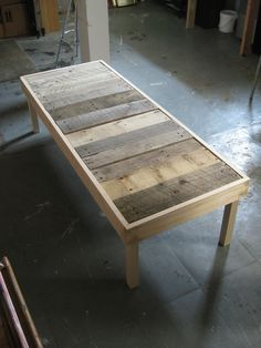 ..coffee table in progess.. | Flickr - Photo Sharing!