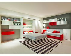 """Manufactured by Clei This Altea Book & Kali 90 murphy bed combined configuration is an excellent example of how customizable Clei bedroom solutions are. Perfect for house guests, college kids and big families, Clei lets you sleep, study or … Continue reading """"ALTEA BOOK & KALI 90"""""""