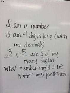 If you have 3 or 4 minutes left in class, this works very well for middle and high school math classes too.