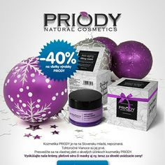 Zoznámte sa prosím ;-) Prírodná kozmetika PRIODY oslavuje svoje prvé Vianoce. Vyskúšajte ju na vlastnej pleti. Teraz za uvádzacie ceny!#kozmetika#vianocnydarcekwww.priody.sk