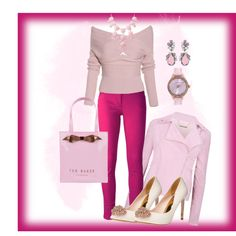 casual by ebramos on Polyvore featuring moda, Ted Baker, Kenzo and Badgley Mischka