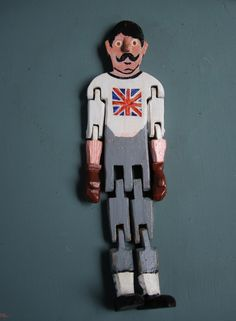 Boxing #jigdoll #limberjack dancing articulated doll.