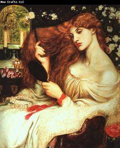 Dante Gabriel Rossetti Lady Lilith