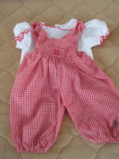 Bitty Baby Red Jumper with Matching Shirt | eBay