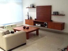 Mueble En Enchapado Lustrado