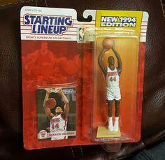 DERRICK COLEMAN Starting Lineup 1994 NEW UNOPENED NBA Figure & Card NETS #KENNER #BrooklynNets