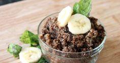 Chocolate Banana Breakfast Quinoa | Greatist {kf} #glutenfree #dairyfree