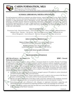School Librarian Resume Unique Resume Examples Teacher Chronological Sample Educator  Home Design .