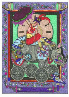 Five Stars  By Katie Stewart on Jan 15, 2015  I love to color and love this book Creative Haven Steampunk Designs Coloring Book (Creative Haven Coloring Books): Marty Noble, Creative Haven: 9780486499192: Amazon.com: Books