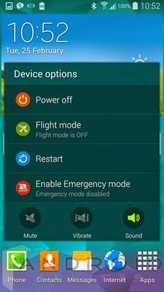 10 April 2014: Samsung Galaxy S5 Tips & Tricks – Best Hidden Options & Features  The latest flagship from Samsung, the Galaxy S5 comes with some brilliant features which although one might not use on a daily basis, are quite useful at some situations and Samsung has made the interface of the S5...(read more) http://android-developers-officials.blogspot.com/2014/04/samsung-galaxy-s5-tips-tricks-best.html