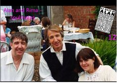 """alan-and-rima: """"""""Date Unknown - Alan Rickman and Rima Horton out and about, whereabouts unknown. If anyone knows when and/or where this photo was taken, please contact me! Copyright © unknown """" """""""