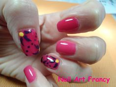 Nail Art Jelly Bears (my-ny) con fiori
