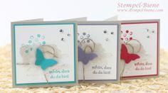 Stampin' Up Happy Watercolor, Dankeskarte basteln, Stampin' Up Jahreskatalog 2014, Stampin' Up Bestellen, Stampin' Up Stempelparty buchen, H...