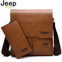 Bandolera hombre JEEP B Luxury Men Messenger Bag Crossbody Business Casual