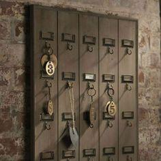 Hotel Key Rack