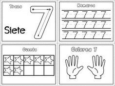 Grafomotricidad números del 1 al 10 (7) Free Kindergarten Worksheets, Preschool Math, Math Activities, Maths, Eureka Math, Teacher Boards, Writing Numbers, Home Learning, Math For Kids