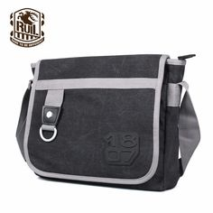 men in Ruil New Man Crossbody bags Messenger Retro Canvas Crossbody bag  2017 Leisure Tooling Package 75ed3d706286b