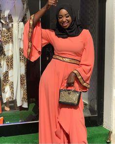 Muslim Fashion, Hijab Fashion, Fashion Outfits, Womens Fashion, Mode Abaya, Mode Hijab, Latest African Fashion Dresses, African Dresses For Women, African Blouses