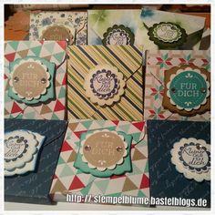 Kleine Mini Ritter sportlich verpackt . Stampin'up! Demonstratorin http:// stempelblume.bastelblogs.de