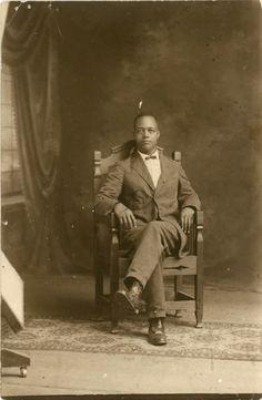 "african american interior designers | Vintage Photo ""African American Man"", Photography, Paper Ephemera ..."