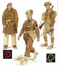 Resultat d'imatges de british s.a.s. uniforms