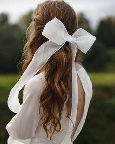 Hair Ribbons, Minimalist Wedding, Band, Accessories, Fashion, Moda, Sash, Fashion Styles, Fashion Illustrations