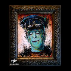 Hot Rod Herman  Original Illustration The Munsters by chuckhodi