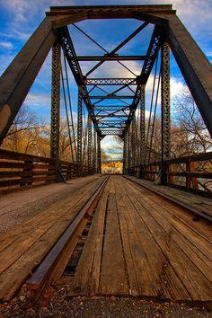 The Bridge over Granite Creek, Prescott, Arizona