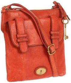 Amazon.com: Fossil Carson Top Zip ZB5055 Cross Body,Rose,One Size: Shoes