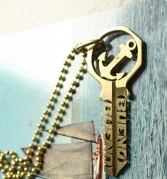 bueno bueno key necklace. totally awesome