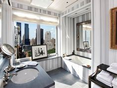 Bathroom Design Inspiration  Marble Countertops