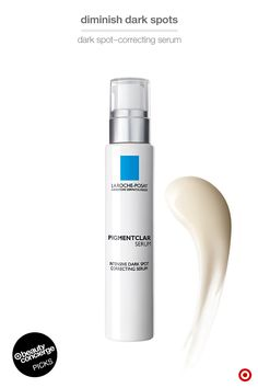 WHY WE LOVE IT: La Roche-Posay Pigmentclar Serum is a Beauty Concierge fave for fighting dark spots. This premium formula is loaded with phe-resorcinol and LHA to reduce visible dark spots, even out skin and brighten your complexion. Use morning and night after cleansing and before moisturizing. And don't forget the SPF (for daytime), of course! Find even more of our product picks at Target.com/beautyconcierge.