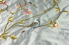 embroidered silk fabric - Yahoo Image Search Results