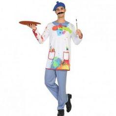 Disfraz de #Pintor para hombre #mercadisfraces #tienda de #disfraces #online disponemos de disfraces #originales perfectos para #carnaval.