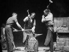 Blacksmithing Scene, the American Short film by William K.L. Dickson