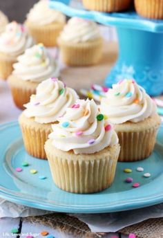 These Moist Vanilla Cupcakes are super easy to make and so moist – for days! They are my new favorite vanilla cupcake! I mentioned a couple weeks ago that I'd be bringing you some new basic favorites and I started with a chocolate cake. Today, we are talking about these moist vanilla cupcakes and I'm …