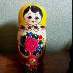 Ukrainian stacking dolls