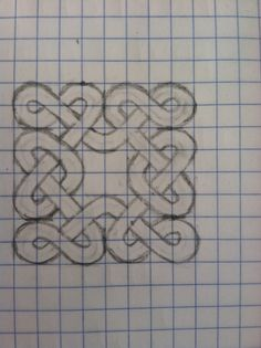 how to draw celtic knots