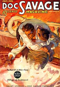 Walter Baumhofer, king of the pulps